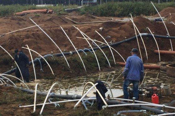 Строительное водопонижение