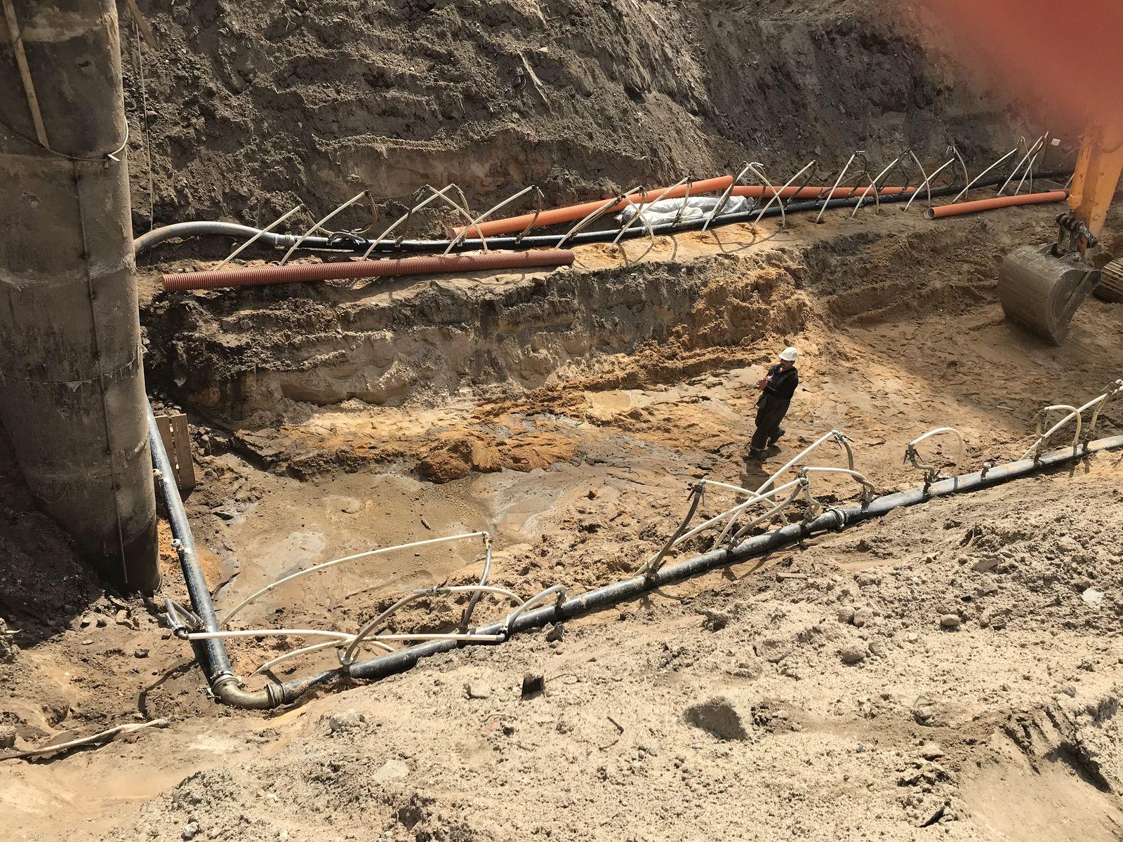 водопонижение грунтовых вод в ЖК Светлана Парк